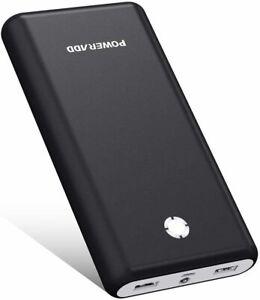POWERADD Pilot X7 20000mAh Externer Akku Power Bank Dual Ausgänge Android iPhon
