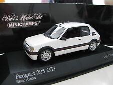 1/43 Minichamps Peugeot 205 GTI (1990) diecast