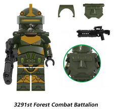 STARWARS MINIFIGURE CLONE 3291st FOREST COMBAT BATTALION CUSTOM not LEGO