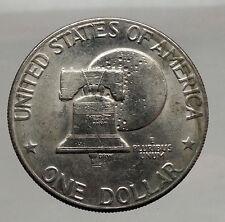 1976 President Eisenhower Apollo 11 Moon Landing Dollar USA Coin Denver   i46198