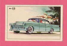 Chrysler 1956 Vintage 1950s Car Collector Card from Sweden
