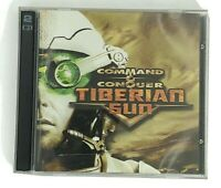 Command and Conquer Tiberian Sun 2 Disc PC Game In Case Westwood Studio CD ROM