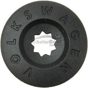 One New Genuine Wheel Lug Bolt Cap 1K0601173A9B9 1K0601173A for Volkswagen VW
