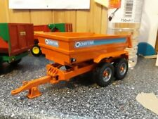 RARE BRITAINS CONVERSION  CHIEFTAIN DUMP TRAILER FOR TRACTOR SIKU