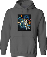Unisex Mens Women Pullover Sweatshirt Hoodie Sweater Star Wars Graphic Classic