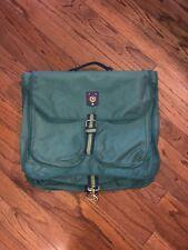 2e184f5120 Vintage 90s POLO RALPH LAUREN Green Stripe Garment Bag  RARE