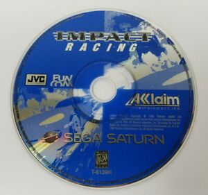Impact Racing (Sega Saturn, 1996) Disc Only, Tested/Works, Very Good Condition