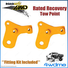 Toyota Landcruiser 76 78 79 4WD Roadsafe Rated Recovery Heavy Duty Tow Point Kit