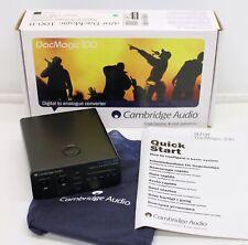 Cambridge Audio DacMagic 100 -- Digital to Analog Converter (Black)
