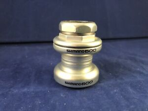 "Shimano 600 HP-6500 Headset, 1"" Threaded, Sealed Cartridge Bearings"