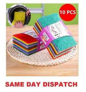 HIGH QUALITY SCOURER SCOURING PAD INDUSTRIAL SCOURER ABRASIVE FINISHING PADS NEW