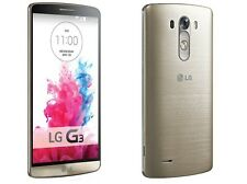 LG G3 - GOLD Edition | 3GB + 32GB | 2.5GHz Quad Core | 13MP+2MP | 3G WIFI