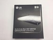 LG - 8x External USB 2.0 Blu-ray Disc Double-Layer DVD±RW/CD-RW Disc Rewriter