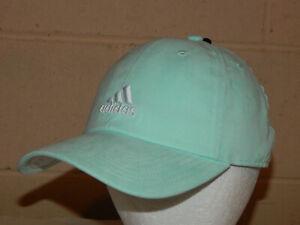 Adidas Women's Saturday Plus Hat / Cap Clear Mint/White 5147138 Strapback