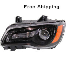 Halogen Head Lamp Assembly Driver Side Fits Chrysler 300 Sedan CH2502235