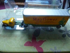 IXO ALTAYA Tracteur International KB 7 +semi fourgon Mayflower 1/43 NB
