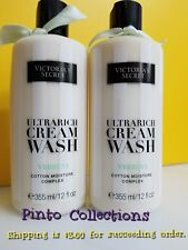 VICTORIA'S SECRET ULTRA RICH CREAM WASH VERBENA BODY WASH (set of 2 large bot.)