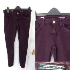 ❤ TOMMY HILFIGER Size 8 UK 4 US Purple Stretch Jegging Fit Jeans Skinny Pockets