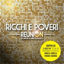 RICCHI E POVERI - REUNION - 2CD NUOVO SIGILLATO 2021