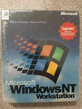 NEW SEALED Microsoft Windows NT Workstation 4.0 Operating System Upgrade Version