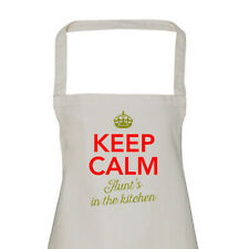 Aunt Gift Apron Funny Personalised Keepsake Cooking Present Cotton Twill Aunt