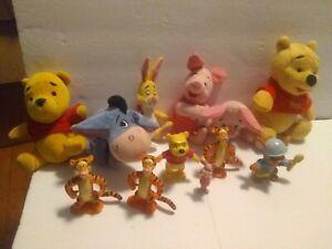 THE FIRST YEARS DISNEY Winnie Pooh PIGLET Eeyore & Cake Toppers