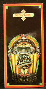 1983 Oakland A's Official Media Press Guide, 136 Pages of Facts & Fun!