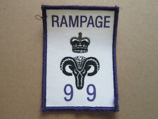 Rampage 99 Cloth Patch Badge Boy Scouts Scouting L3K C