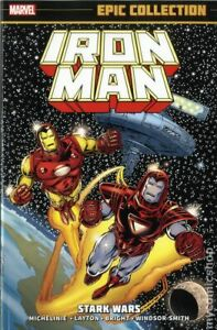 Iron Man Stark Wars TPB Epic Collection #1-1ST FN 2015 Stock Image