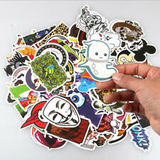 50pcs Skateboard Sticker Skate Graffiti Laptop Luggage Car Bomb Vinyl Decal New