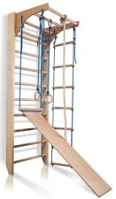 Wall Bars Home gym for kids Gymnastic Climbing Swedish Ladder Wooden Playground