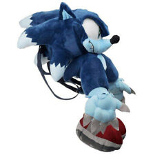 Werehog Sonic Plush Doll Bag Backpack Stuffed Plushie Soft Toy Gift 13 In