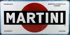 Tin Sign: Martini Logo - 25x50 cm