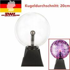 Plasmakugel 20cm Retro Plasmaball Party Deko Lichteffekt Plasma Lampe Leuchte
