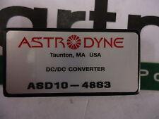 Asd10-48S3 Astrodyne 10W Dc/Dc,3.3V out 18-75 Vin Brand New!