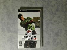 TIGER WOODS PGA TOUR 09 GOLF - SONY PSP ITALIANO COMPLETO COME NUOVO UCES 01120