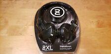 Skullcandy 2XL Shakedown Full Suspension Wired Headphones Stereo Blk NEW SEALED