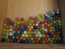 130+ Vintage Marbles, Estate Sale Find, Other Toys From 1965, One Not Glass