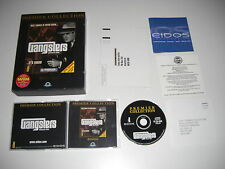 GANGSTERS 1 - Organised Crime Pc Cd Rom Premier Collection BIG BOX - FAST POST