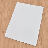 Für Tintenstrahldrucker A4 Leere Klebefolie Selbstklebendes Papier 20x Beste Neu