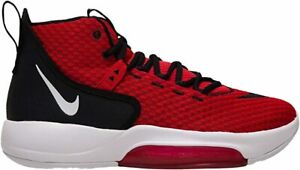 Nike Men's Zoom Rize TB Basketball Shoes, University Red/White, 7 D(M) US