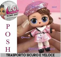 LOL Surprise! BLING GLITTER 🌟Doll POSH • B-011 Nuova Omg Top Rara Glam Lil