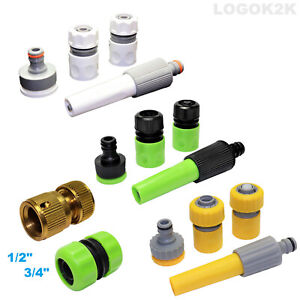 Universal Garden Watering Hose Pipe Tap Connector Adaptor Fitting Attachment