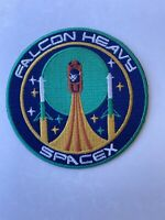 NASA SPACEX MORALE PATCH- FALCON HEAVY Launch - SATELLITE Mission PATCH IRON SEW