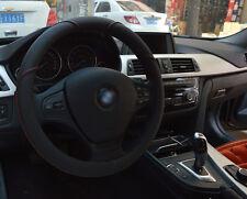 Auto  Ø37-38cm schwarz  Lenkradbezug Lenkrad hülle schutz schoner Kunstleder