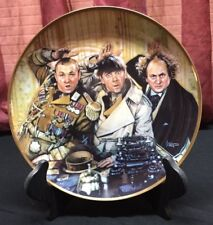 The Three Stooges Collector Plate - Franklin Mint - Larry - Curly - Moe