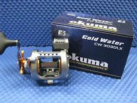 Okuma Cold Water Left Hand Trolling Reel with Line Counter CW 303DLX