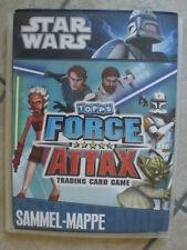 Star Wars Force Attax Sammelalbum Mappe Album Serie 1 komplett + LE 1