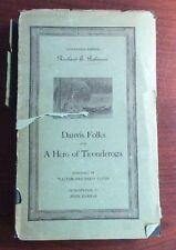 Danvis Folks And A Hero Of Ticonderoga (1934, Hardcover) Robinson