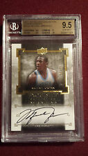 Michael Jordan 2013 Exquisite Collection Enshrinements Auto JSY#23/23 BGS 9.5/10